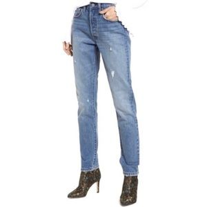 NWT Levi's 501 Button Fly Skinny Jeans